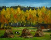 Settembre  - Olga Maksimova - Olio