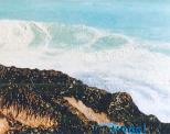 Dettaglio di 'Mare mosso'  - Gabriella Poggi - Olio