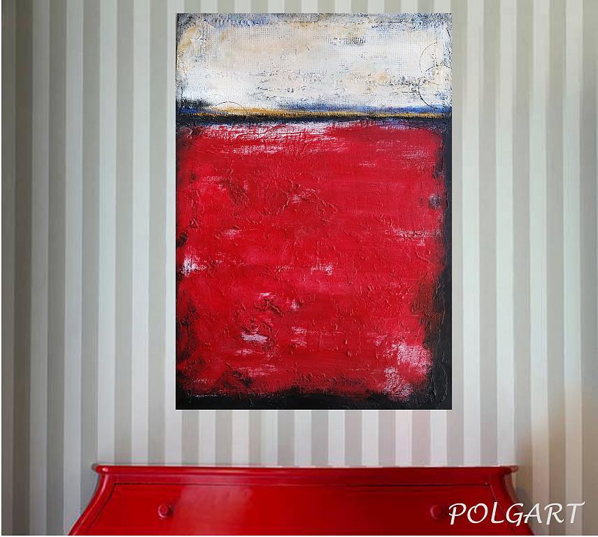 'Mon rouge' - aliz polgar - materico - 160 €
