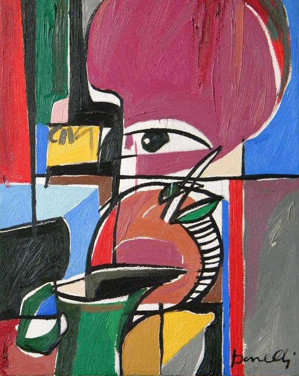 Natura morta - Gabriele Donelli - Olio - 700 €