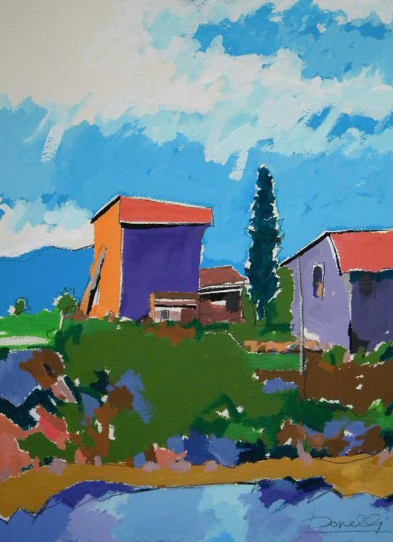 Paesaggio - Gabriele Donelli - Acrilico - 800 €