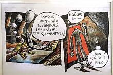Luigi e Giannandrea 8 - Lucio Forte - Acquerello su Xerocopia - 80€