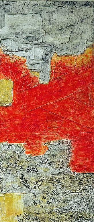 Frammenti - Massimo Di Stefano - Mista a rilievo su tavola
