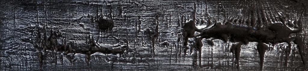 Tracce di un'anima - Massimo Di Stefano - Mista  in rilievo su tavola