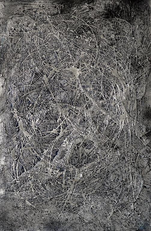 Connessioni neuronali - Massimo Di Stefano - Mista 3D su tela - 1500 €