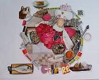 LO CHEF ciclo  I MESTIERI  - BubArt Studio - Collage - 15€