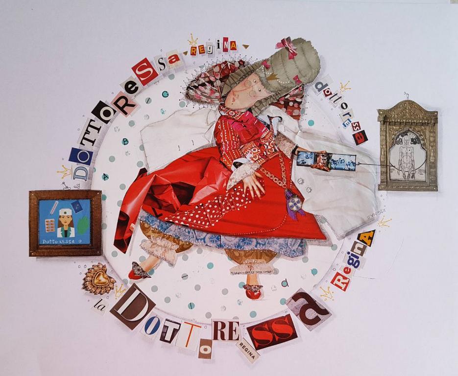 LA  FARMACISTA ciclo I MESTIERI - Viktoriya Bubnova - Collage