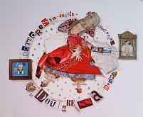 LA  FARMACISTA ciclo I MESTIERI - Viktoriya Bubnova - Collage - 15€