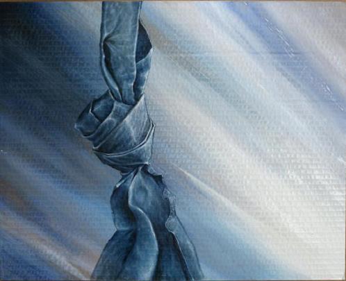nodo in blu - daniele rallo - mista - 150 €