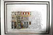 West 89th Street, NY - Lucio Forte - Olio - Venduto!
