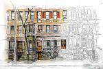 West 89th Street, NY - Lucio Forte - Olio - Venduto!