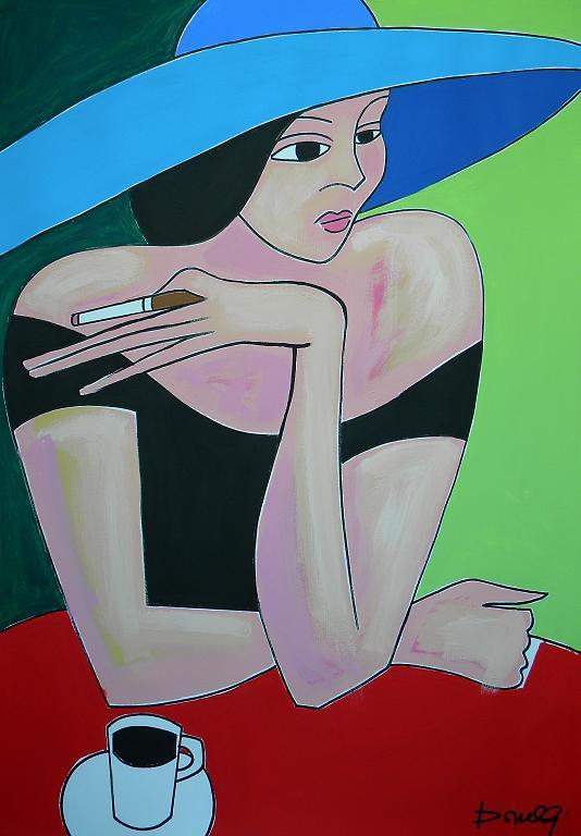 Ritratto di ragazza - Gabriele Donelli - Acrilico - 600 €