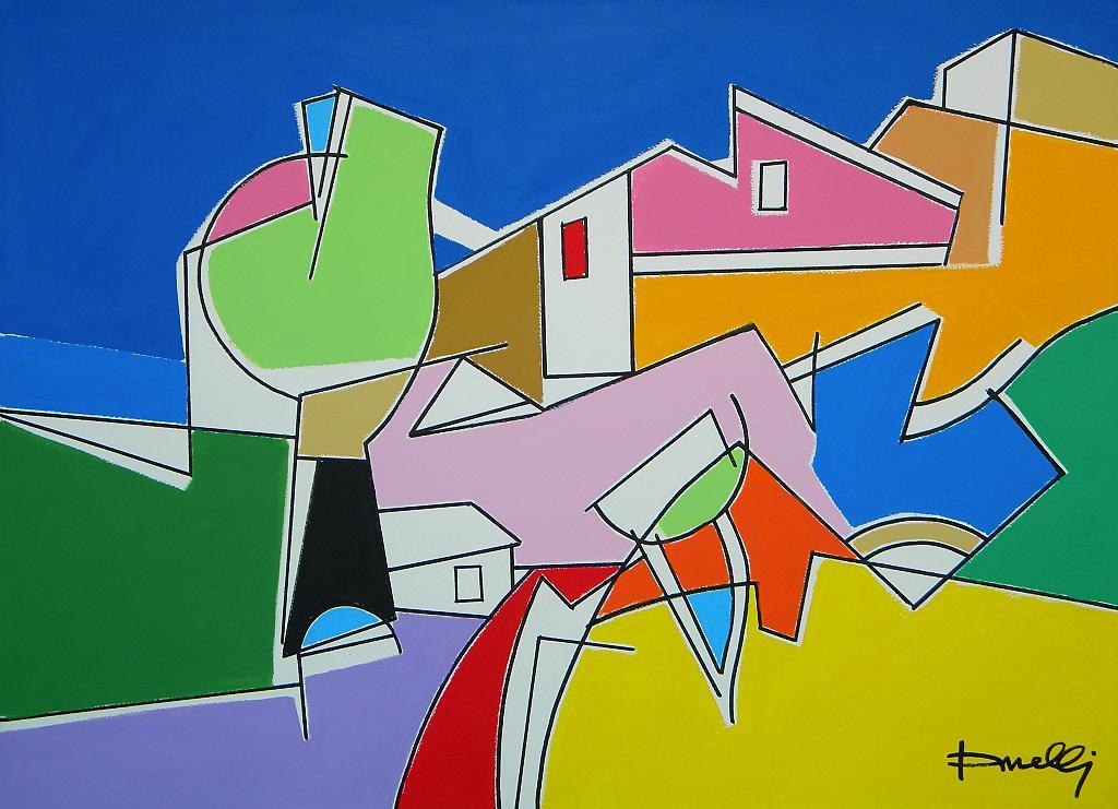 Paesaggio - Gabriele Donelli - Acrilico - 400 €