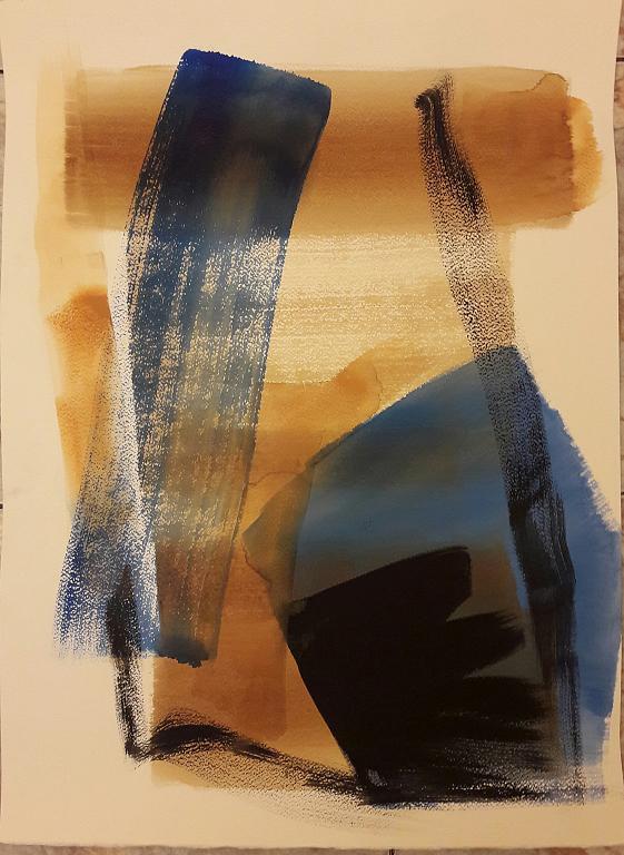 Buio oggi notte - Alessandra Bisi - pigmenti - 500 €