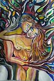 L'albero dell'amore - Andrea  Schimboeck  - Acrilico