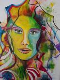 Chiaramente coraggiosa 2 - Andrea  Schimboeck  - Acrilico