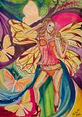 La farfalla - Andrea  Schimboeck  - Acrilico