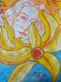 L'angelo et il sole - Andrea  Schimboeck  - Acquerello