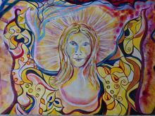 L'angelo italiano - Andrea  Schimboeck  - Acrilico