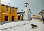 Chiesa S.Antonio, Casorate P. - Pietro Dell Aversana - Olio - 240€