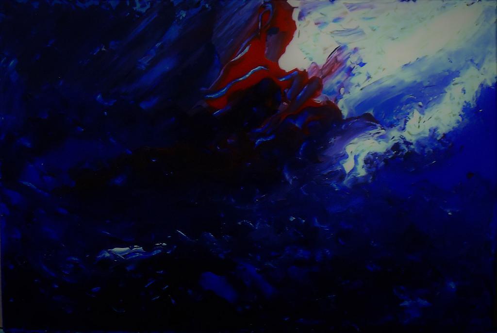 Blu notte - Pietro Dell Aversana - Acrilico - 85 €
