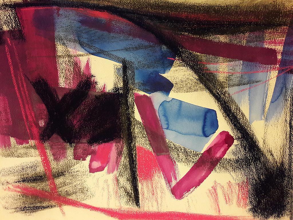 'Barabba1' - Alessandra Bisi - inchiostro e carbone - 950 €