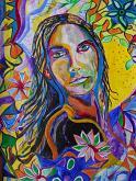 La mia versione di Gesù - Andrea  Schimboeck  - Acrilico