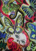 La farfalla incompleta - Andrea  Schimboeck  - Acrilico