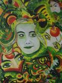 Carnevale - Andrea  Schimboeck  - Olio