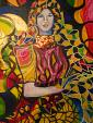 La splendida donna - Andrea  Schimboeck  - Acrilico