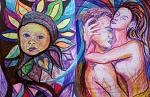 La fusione delle anime - Andrea  Schimboeck  - Pennarelli e penna