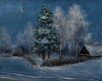 Capodanno - Olga Maksimova - Olio