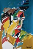 Ritratto di Ernest Hemingway - Gabriele Donelli - Acrilico - 300€
