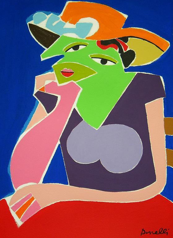 Ritratto di ragazza - Gabriele Donelli - Acrilico - 400 €