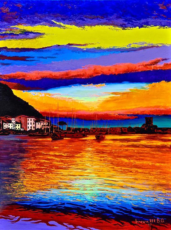 I colori del tramonto - GRECO Bruno - Acrilico