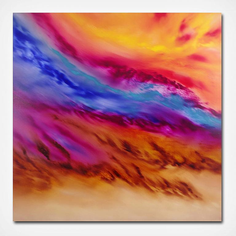 Le blè au vent - Davide De Palma - Olio - 250 €