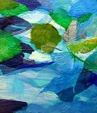 Fresco e sereno - Alessandra Bisi - Collage - 650€