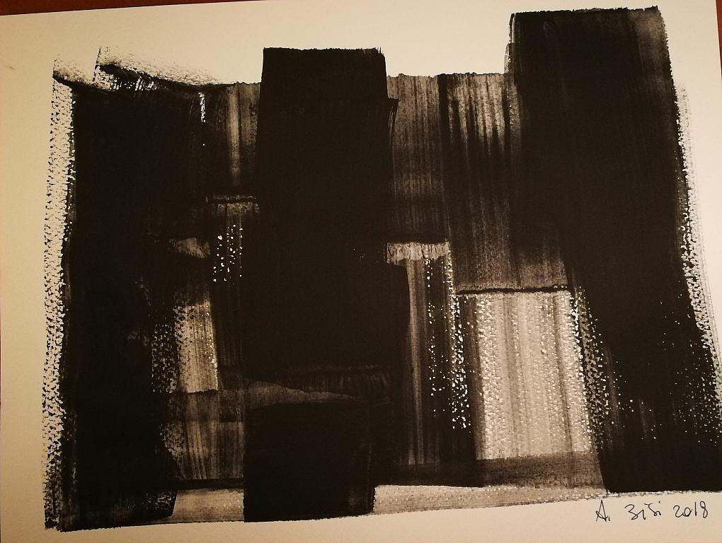 Step - Alessandra Bisi - grafite - 120 €