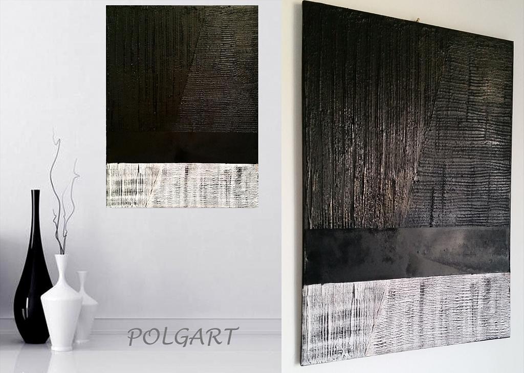 black is black direzioni diversi - aliz polgar - materico