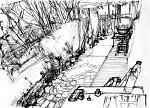 Villa Makky's garden - Lucio Forte - china su carta - 156€ - Venduto!