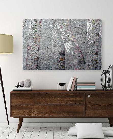 Birch Tree Reflection 10 Series - Daniela Pasqualini - Acrilico