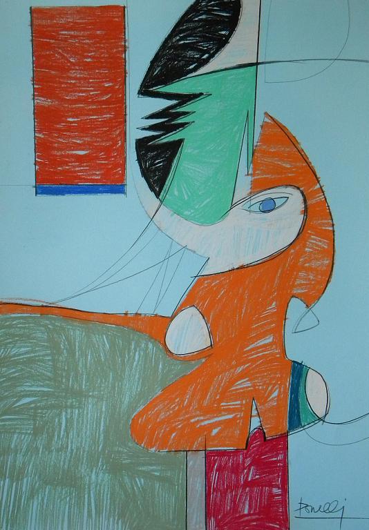 Marzo - Gabriele Donelli - Pastelli - 300 €