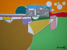 Paesaggio - Gabriele Donelli - Matita e acrilico - 400€