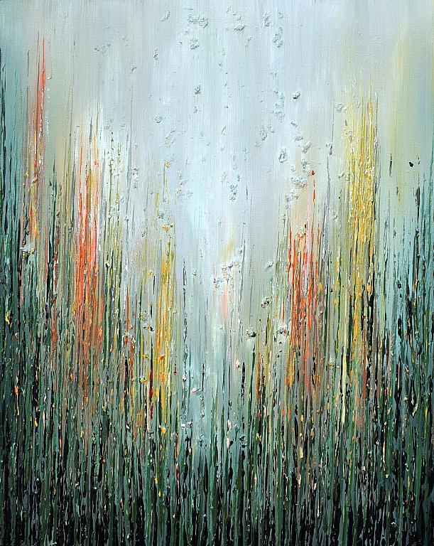 Shade od Wildflowers - Daniela Pasqualini - acrilico e fiori essiccati