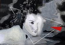 ASIA -stampa su tela ritoccata a mano - EZIO  RANALDI - Digital Art - 250,00€