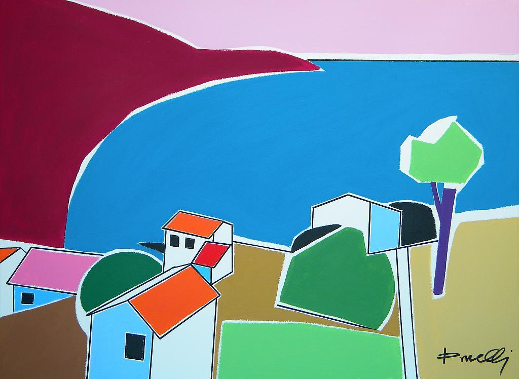 Isola d'Elba - Gabriele Donelli - Acrilico - 400 €