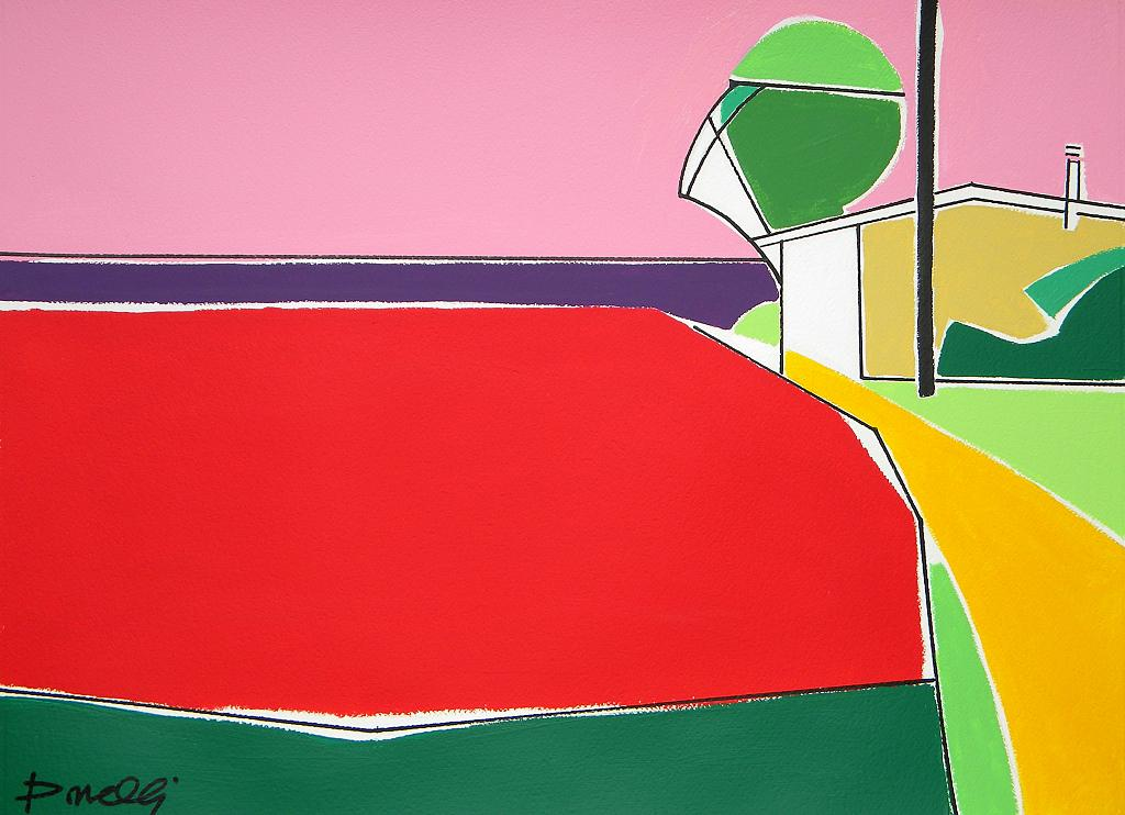 Paesaggio - Gabriele Donelli - Acrilico - 1900 €