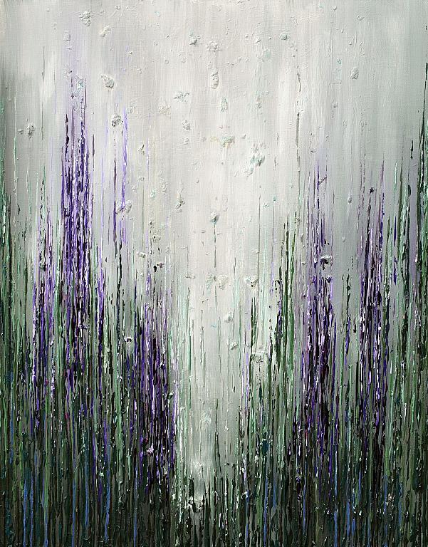 Shade od Wildflowers II - Daniela Pasqualini - Acrilico