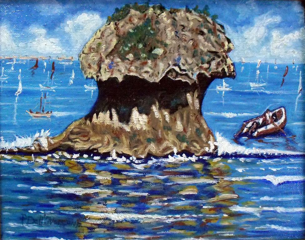 Acquameno - Pietro Dell Aversana - Olio - 110 €