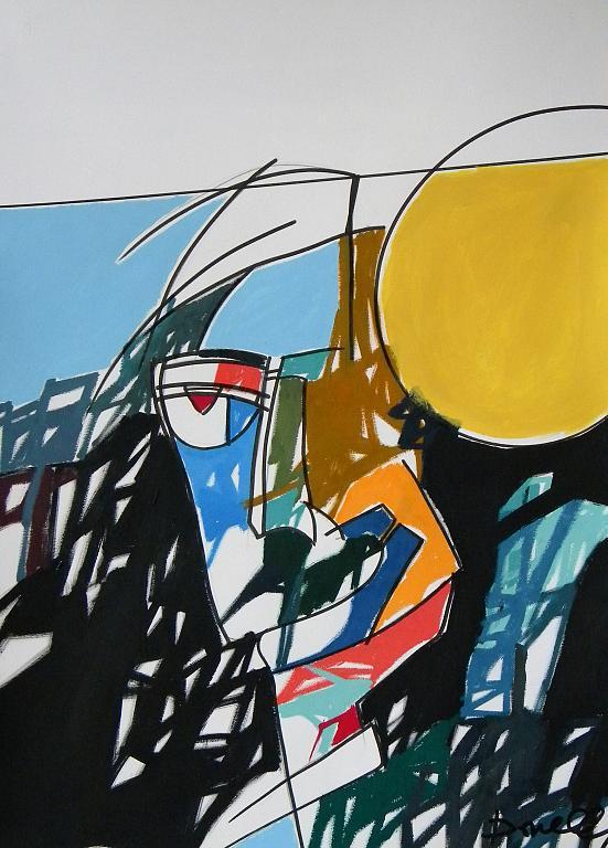 Ritratto di Andy Warhol - Gabriele Donelli - Acrilico - 700 €
